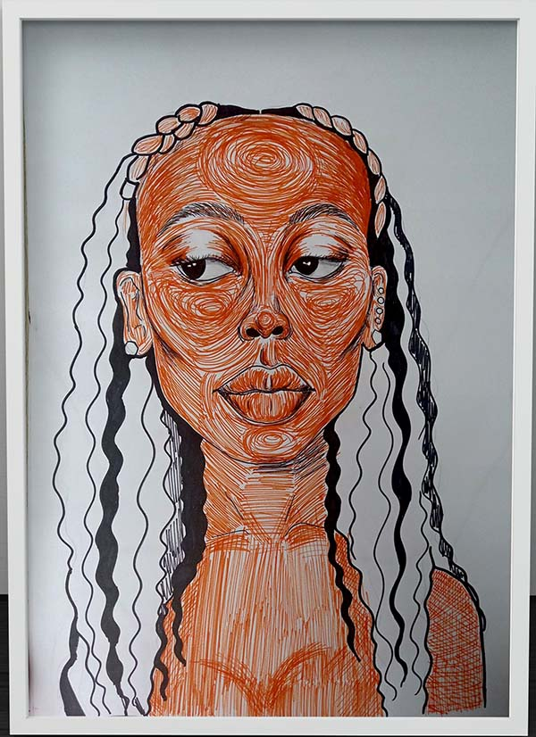 portrait-sketchline